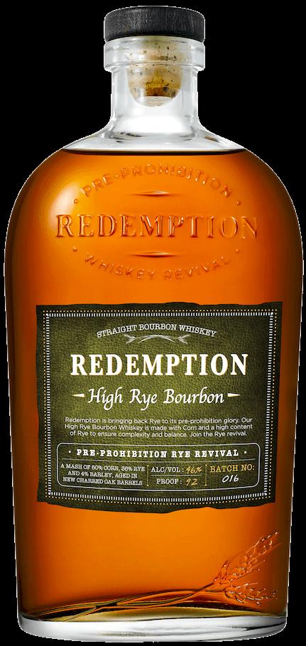 high rye bourbon whiskey
